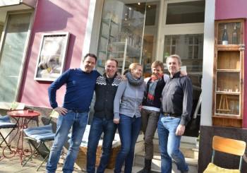 Hennes, Ortwin, Silke, Lore und Robert
